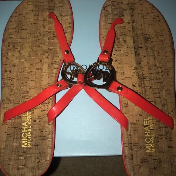 Michael Kors Shoes - Michael Kors flip flop sandals